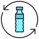 bottle, recycle, save icon