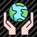 care, hand, save, world