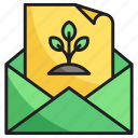 email, envelope, nature