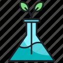 chemistry, flask, lab, plant