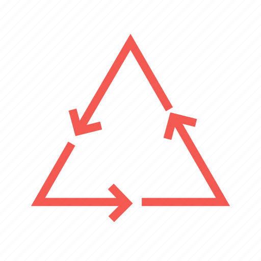 arrow, cycle, energy, recycle, recycling icon