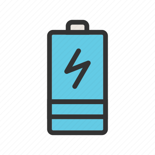 Battery, car, charging, electric, energy, power, vehicle icon - Download on Iconfinder