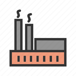 factory, industrial, industry, manufacturing, production, textile, workers icon