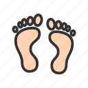 body, feet, foot print, human feet, man, sand, walk