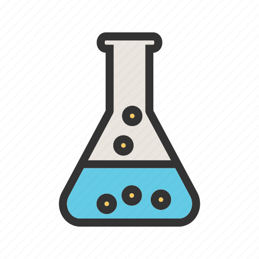 Beaker, chemical, chemistry, flask, glass, liquid, research icon - Download on Iconfinder