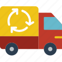 car, ecology, enviorment, nature, recycle icon