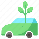 car, ecology, transport icon