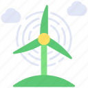 power, turbine, wind icon