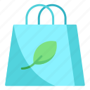 bag, nature, shopping icon