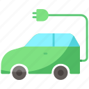 car, electric, transport
