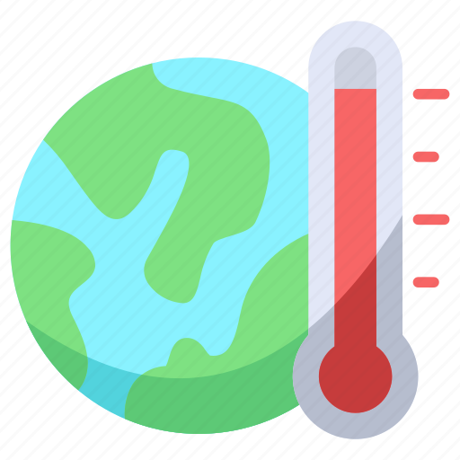 global, warming, world icon