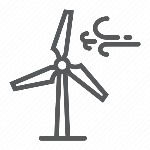 eco, ecology, electricity, energy, turbine, wind, windmill icon