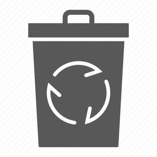 bin, delete, ecology, garbage, recycle, trash, waste icon