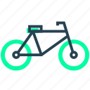 bycycle, ecology, energy, healthy, sport icon