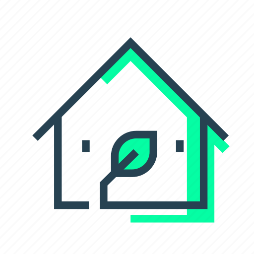 Ecohome, ecology, home, house icon - Download on Iconfinder