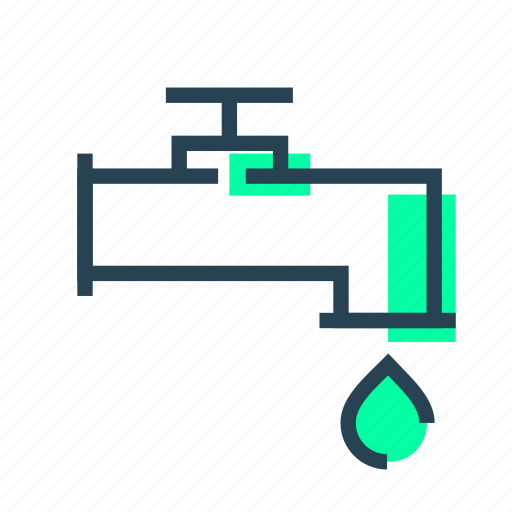 ecology, ecowaterplant, water icon