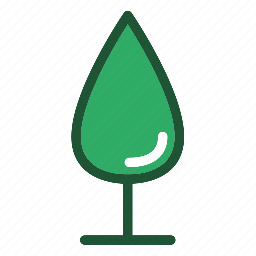 cypress, eco, environment, nature, tree icon
