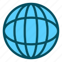 eco, ecology, environment, globe, nature icon