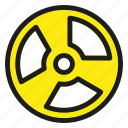 eco, ecology, environment, nature, nuclear icon