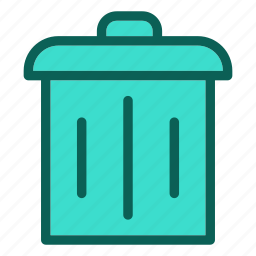eco, ecology, environment, nature, trash icon