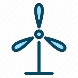 ecology, environment, nature, power, wind icon