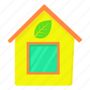 business, cartoon, eco house, green, housing, property, save