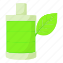 cartoon, conservation, eco bottle, green, responsibility, revamp, save icon