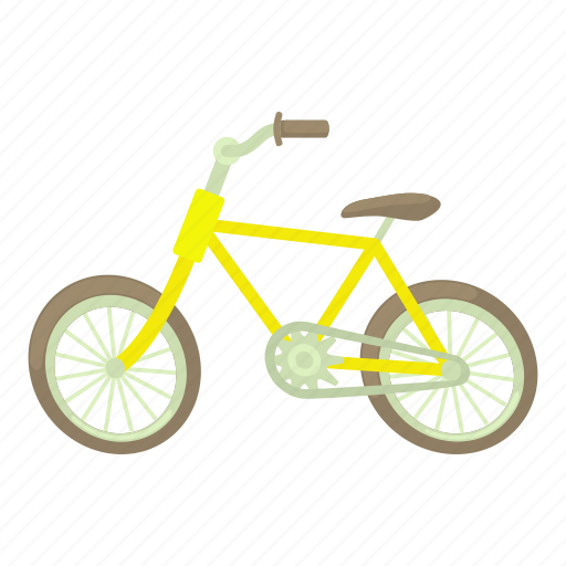 Bicycle, bike, cartoon, cycle, healthy, pedal, sport icon - Download on Iconfinder