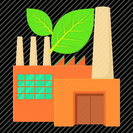 cartoon, eco factory, engineering, heavy, industrial, pollution, power icon
