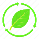 cartoon, eco, ecology, green, leaf, natural, tree icon