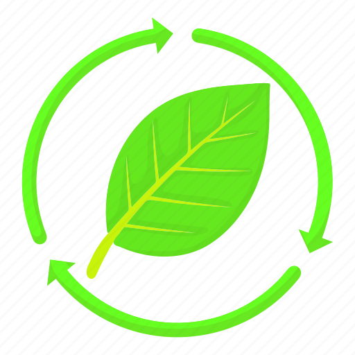 Cartoon, eco, ecology, green, leaf, natural, tree icon - Download on Iconfinder
