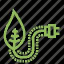 ecology, ecosystem, environment, environmentalism, plant, plug, plugin icon