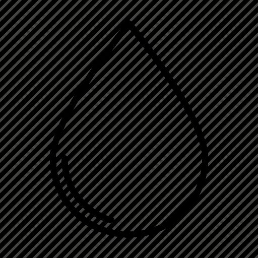 oil, rain, water icon