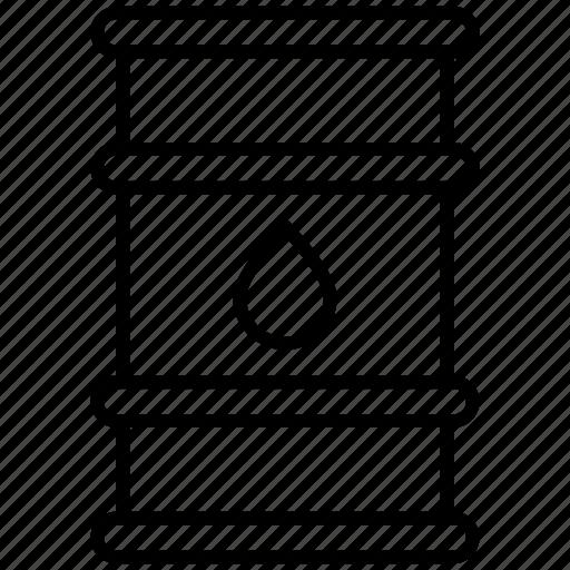 barrel, oil, petrol, petroleum icon