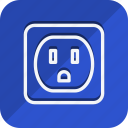 charge, ecological, ecology, nature, plug, power, socket icon