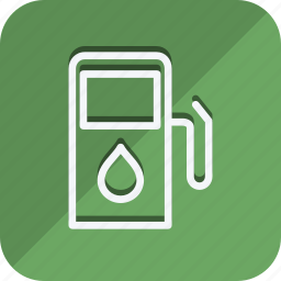 ecological, ecology, filling, gasoline, nature, oil, petrol icon