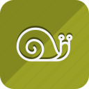 ecological, ecology, energy, environment, green, nature, snail icon