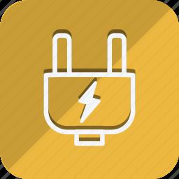 charge, ecological, ecology, nature, plug, power, socket icon