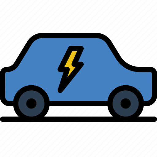 Car, ecology, electric, enviorment, nature icon - Download on Iconfinder