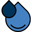 drops, ecology, enviorment, nature, water icon