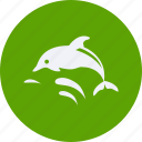 blue, eco, ecology, energy, environment, forest, nature, whale icon