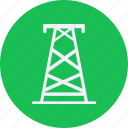 eco, ecology, electrical, energy, environment, forest, nature, tower icon