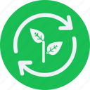 eco, ecology, energy, environment, forest, nature, renewable icon