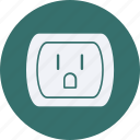 eco, ecology, energy, environment, forest, nature, socket icon