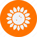 ecology, energy, environment, forest, nature, plant, sunflower icon
