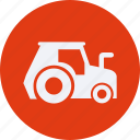 ecology, energy, environment, garden, nature, tractor icon