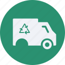 ecology, energy, environment, transportation, truck, vehicle icon