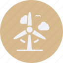 eco, ecology, energy, environment, nature, plant, windmill icon