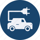 car, ecology, electric, energy, power, transport, travel, vehicle icon