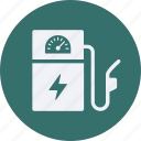 battery, ecology, electric, environment, gas, power, station icon